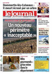 Abonnement Le Journal de Saône et Loire, Ed. de Mâcon