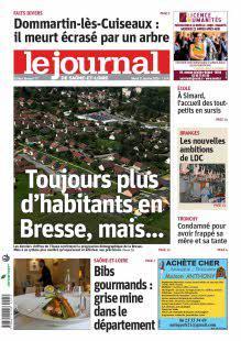 Le Journal de Saône et Loire, Ed. de Bresse