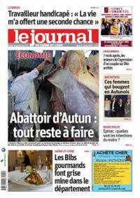 Le Journal de Saône et Loire, Ed. d'Autun Le Creusot