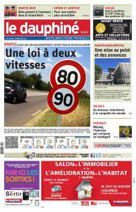 Abonnement Dauphiné Libéré Drome Montélimar Provence