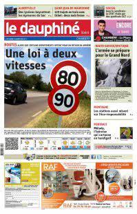Abonnement Le Dauphiné Libéré, Ed.  Chambéry et Aix les Bains