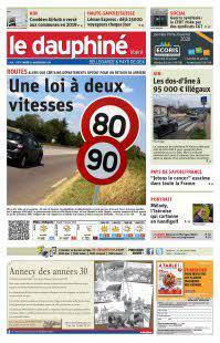 Le Dauphiné Libéré, Bellegarde, Pays de Gex