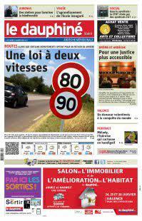Abonnement Le Dauphiné Libéré, Ed.  Ardèche méridionale