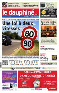 Dauphiné Libéré Annonay nord Ardèche - N°210117