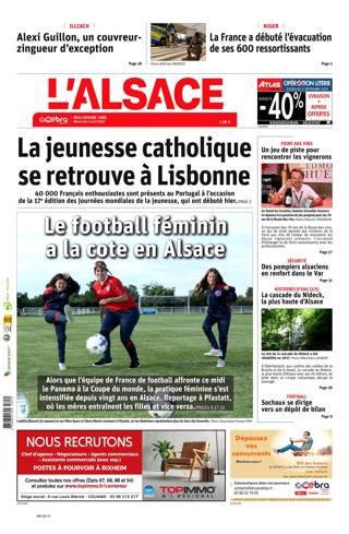 L'Alsace, Ed.  Mulhouse