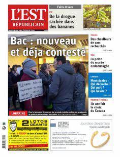 Est Républicain, Ed. de Toul - N°200121