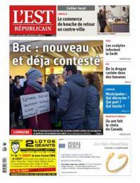 Est Républicain, Ed. de Lunéville