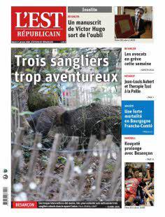 Abonnement Est Républicain, Ed. de Besançon
