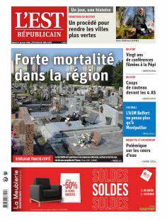Abonnement Est Républicain, Ed. de Belfort