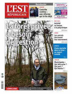 Abonnement Est Républicain, Ed. de Bar-Le-Duc