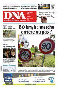 Abonnement DNA, Ed.  Strasbourg Nord