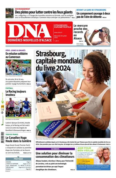 DNA, Ed.  Strasbourg - N°200221