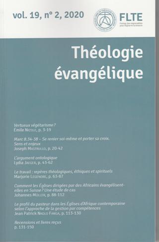 Théologie Evangélique