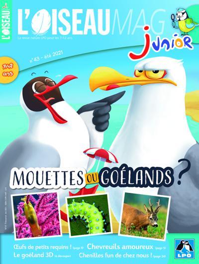Abonnement L'Oiseau Mag Junior