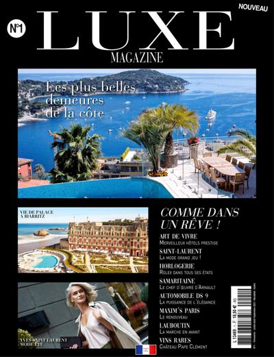 Abonnement Luxe Magazine